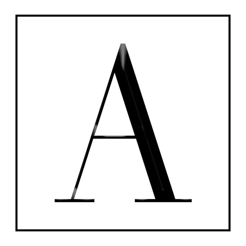 A Logo Square